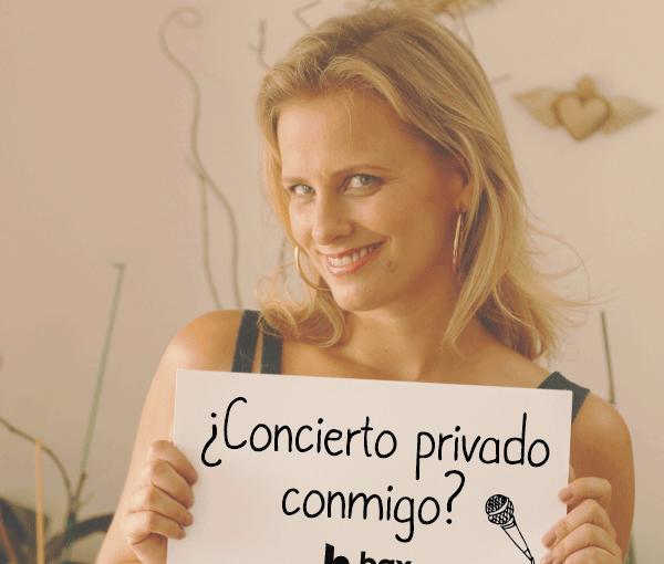 ¡Ven al concierto privado de Rossana!