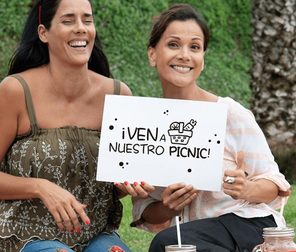 ¡Gianella y Mónica te invitan a su picnic!