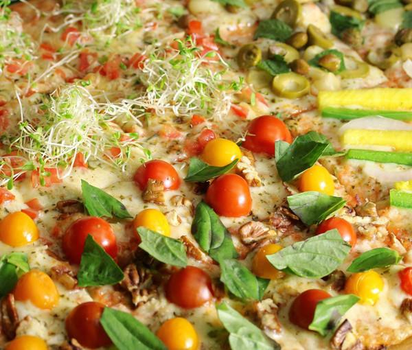 ¡Banquete en Veggie Pizza!